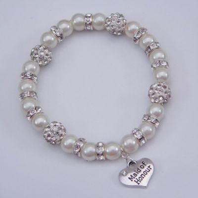 Maid Of Honour Bracelet - Glitzy Style